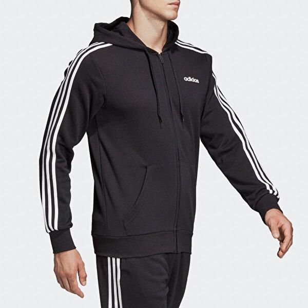 adidas E 3S FZ FT Siyah Erkek Eşofman