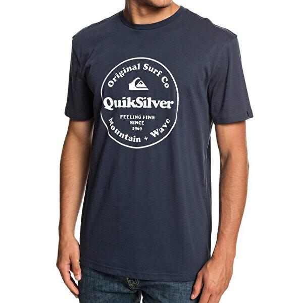 Quiksilver SCRTINGREDIENSS M TEES Mavi Erkek Kısa Kol T-Shirt