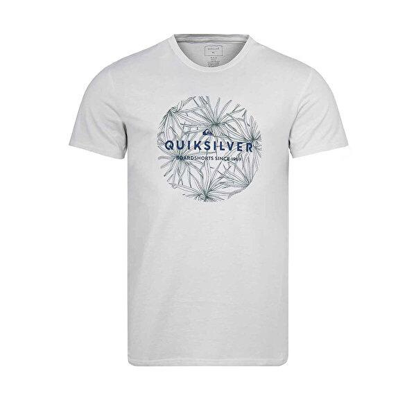 Quiksilver CLASSICBOBSS M TEES Bej Erkek Kısa Kol T-Shirt