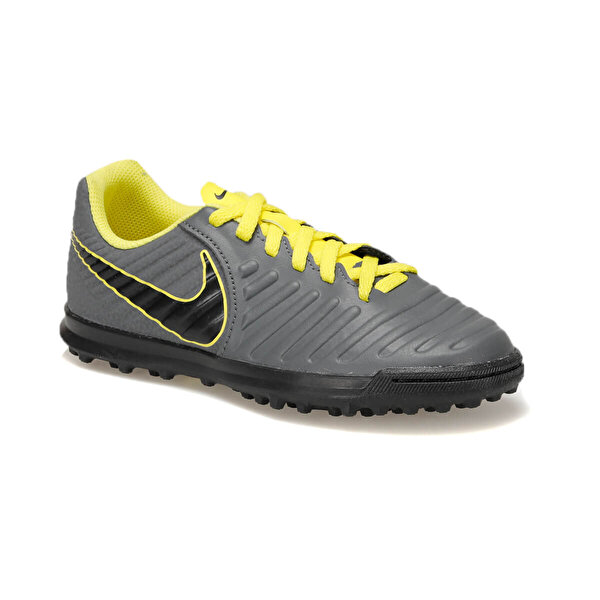 Nike JR LEGEND 7 CLUB TF Gri Erkek Çocuk Halı Saha Ayakkabısı