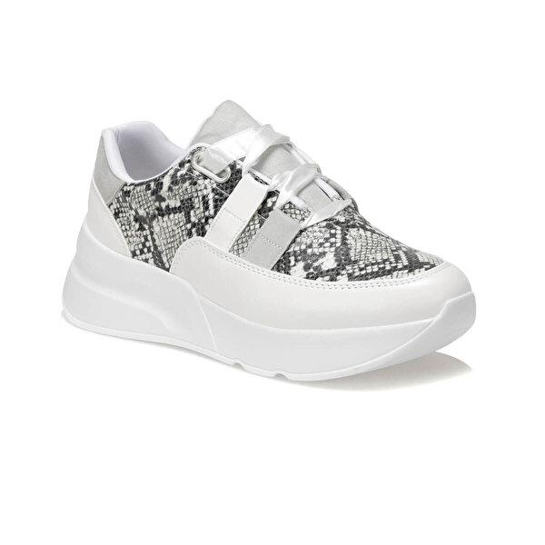 Butigo KİBA01Z CİLT Beyaz Kadın Sneaker Ayakkabı