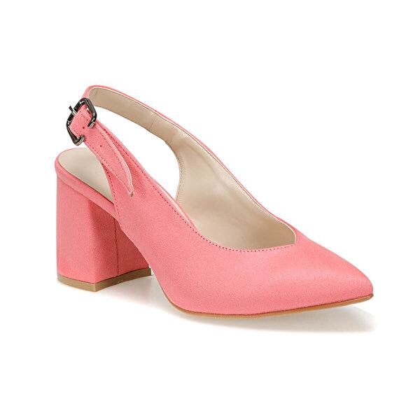 Butigo MAY25Y SÜET Mercan Kadın Topuklu Ayakkabı
