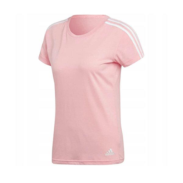 adidas ESS 3S SLIM TEE Pembe Kadın Kısa Kol T-Shirt