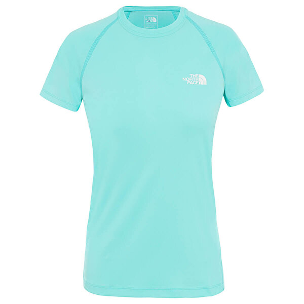 The North Face W S/S FLEX EU Mavi Kadın Kısa Kol T-Shirt
