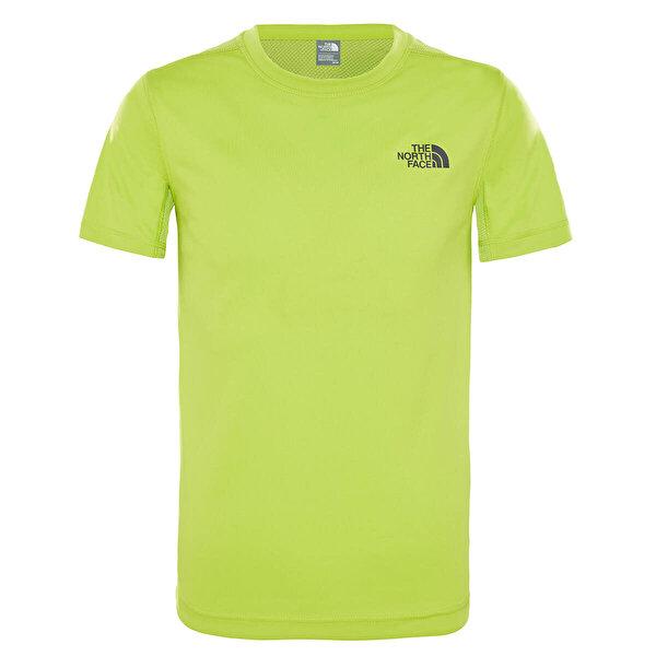 The North Face B REACTOR S/S TEE Yeşil Erkek Çocuk Kısa Kol T-Shirt