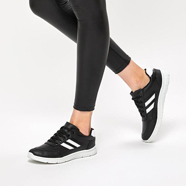 Polaris 92.314871.Z Siyah Kadın Spor Ayakkabı