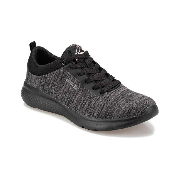 Kinetix ETA W 9PR Siyah Kadın Koşu Ayakkabısı
