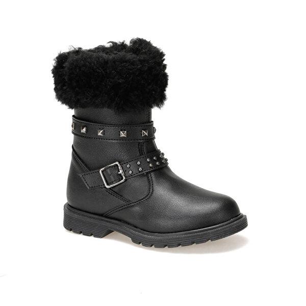 Seventeen LUNA.19W Siyah Kız Çocuk Basic Casual Ayakkabı
