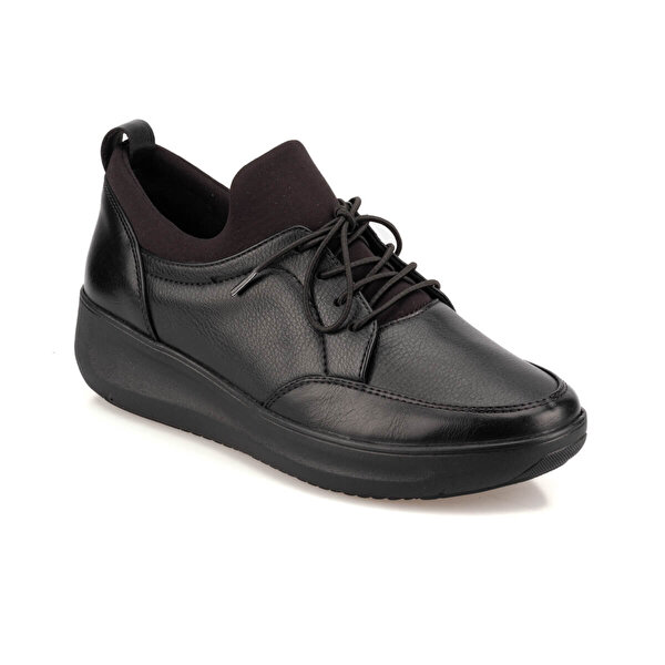 Travel Soft TRV920065 Siyah Kadın Sneaker Ayakkabı