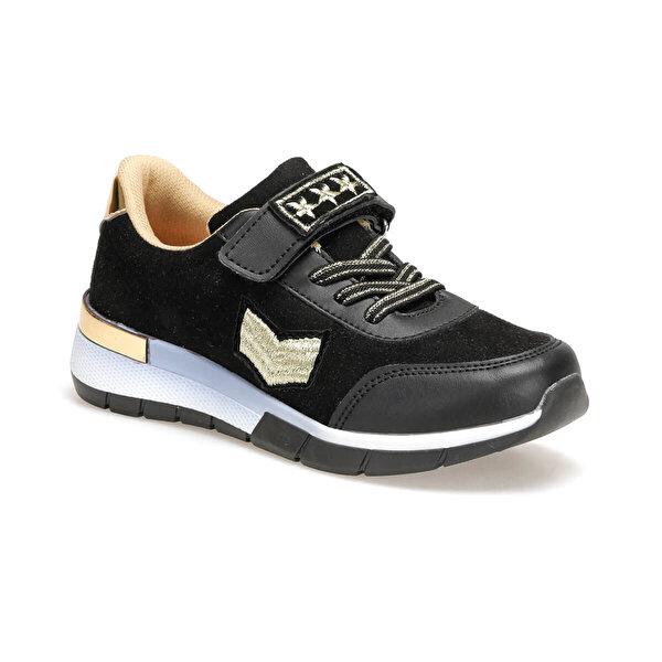 Seventeen VITA.19F Siyah Kız Çocuk Spor Ayakkabı