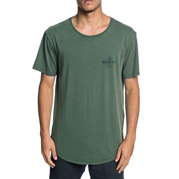 Quiksilver DIAMONDTAILSSS M TEES Haki Erkek Kısa Kol T-Shirt