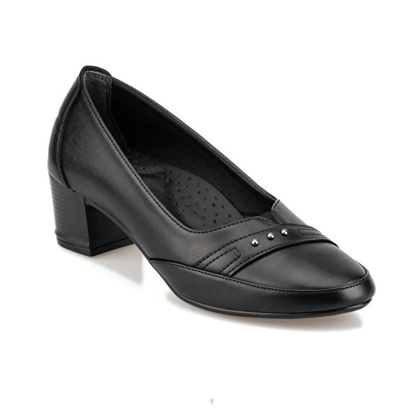 Polaris 92.151060.Z Siyah Kadın Gova Ayakkabı