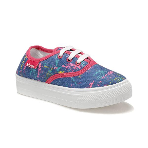 Kinetix MOSSE Mavi Kız Çocuk Sneaker Ayakkabı
