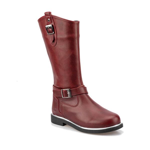 Polaris 92.511825.F Bordo Kız Çocuk Basic Casual Ayakkabı