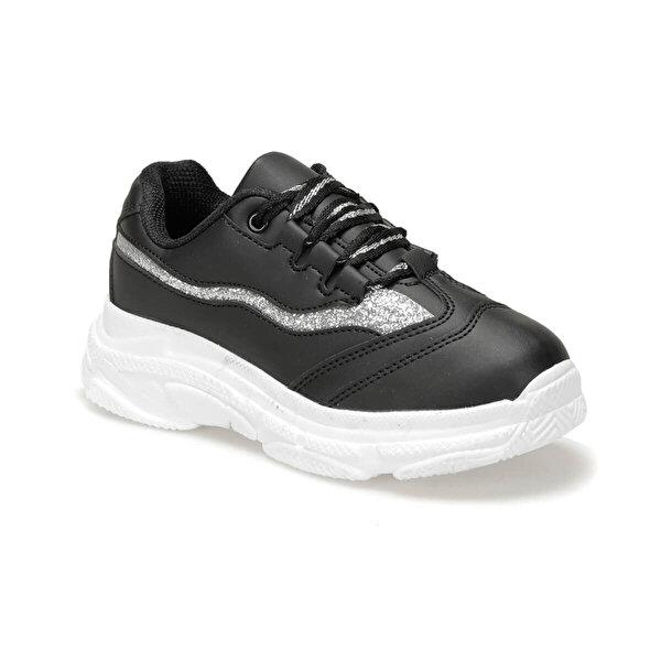 I Cool CHUNKY H. Siyah Kız Çocuk Yürüyüş Ayakkabısı