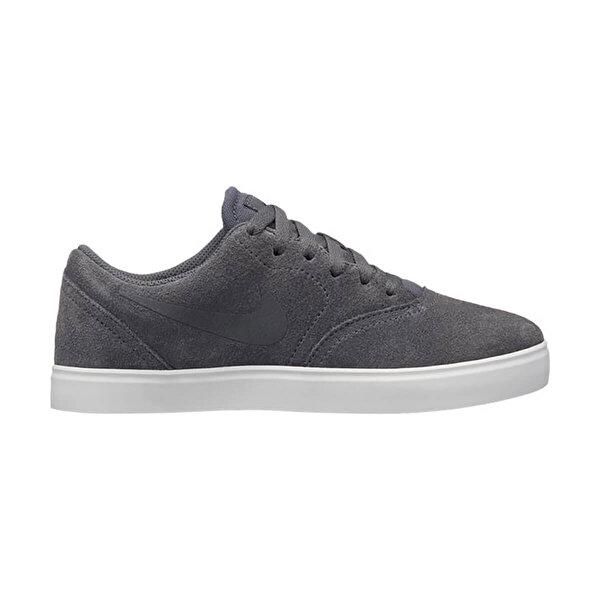Nike SB CHECK SUEDE (GS) Koyu Gri Erkek Çocuk Sneaker Ayakkabı