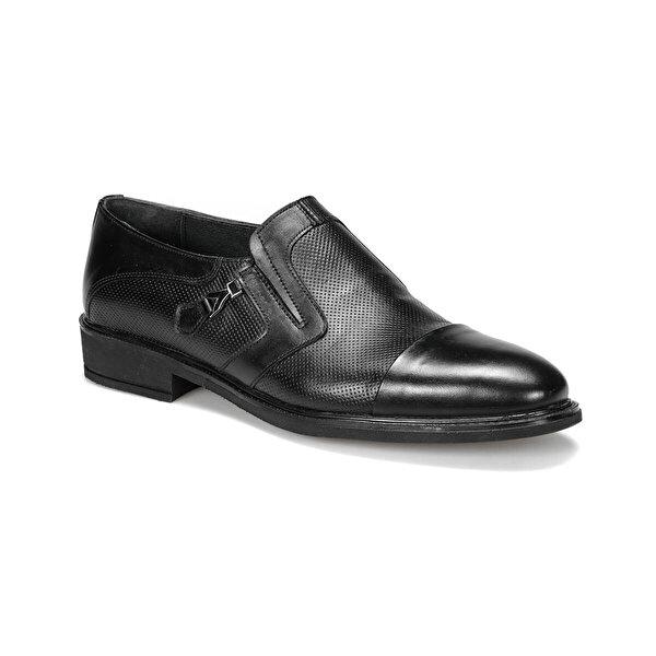 Mercedes KANSAS 9PR Siyah Erkek Klasik Ayakkabı
