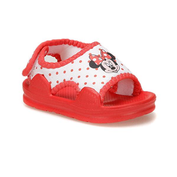 Mickey Mouse 91.TELY-2.B Beyaz Kız Çocuk Sandalet