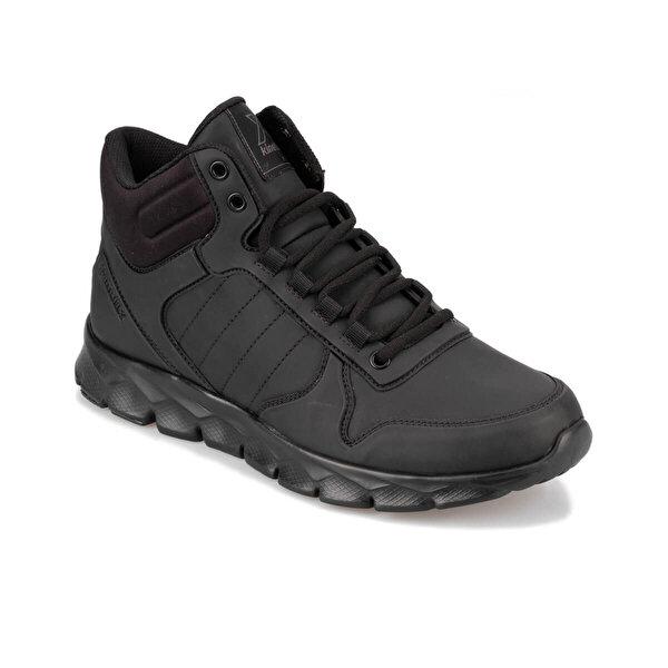 Kinetix OKA MID PU 9PR Siyah Erkek Sneaker Ayakkabı
