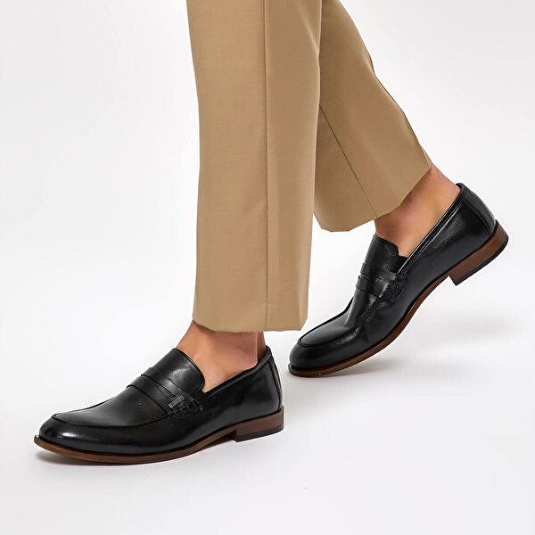 Mercedes ARONY Siyah Erkek Ayakkabı