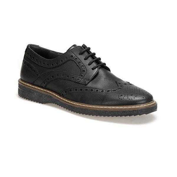 JJ-Stiller 21750 Siyah Erkek Klasik Ayakkabı