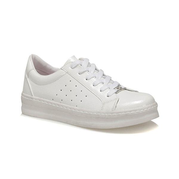Butigo 19K-908 Beyaz Kadın Sneaker Ayakkabı