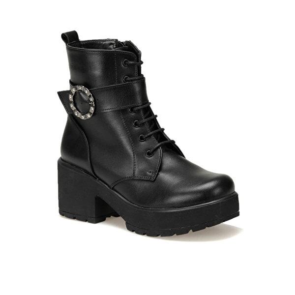 Art Bella CW19048 Siyah Kadın Topuklu Ayakkabı
