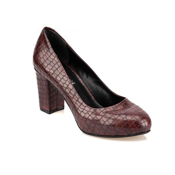 Polaris 92.313153YZ Bordo Kadın Ayakkabı