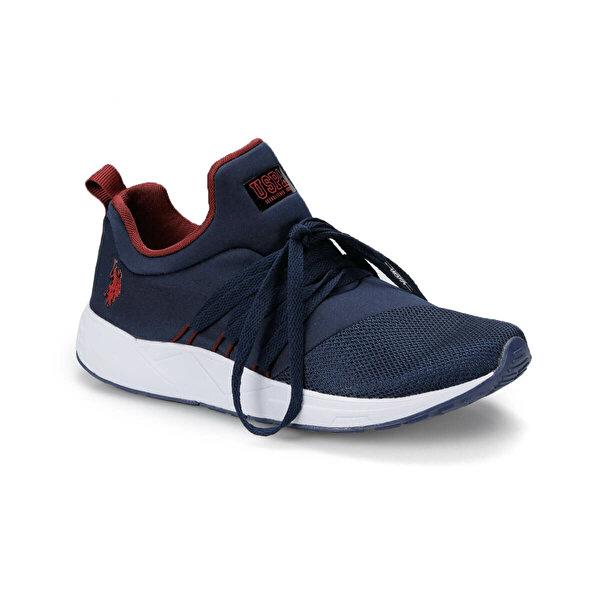 U.S. Polo Assn. TORK Lacivert Kadın Sneaker Ayakkabı