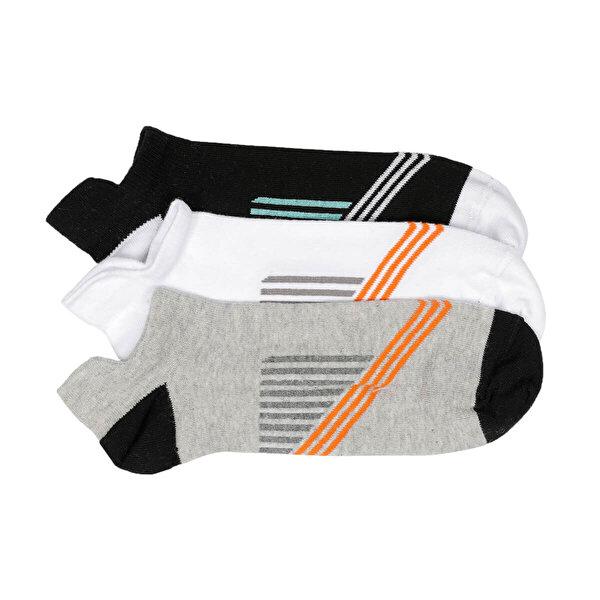 Kinetix DESMOND-2 Beyaz Erkek Çorap