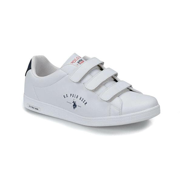 U.S. Polo Assn. SINGER Beyaz Erkek Sneaker Ayakkabı