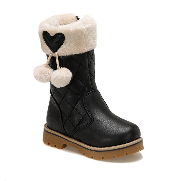 Polaris 92.509618.P Siyah Kız Çocuk Basic Casual Ayakkabı