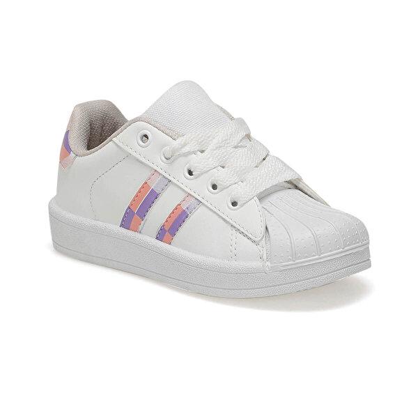 Kinetix RENDRO PU K 9PR Beyaz Kız Çocuk Sneaker Ayakkabı