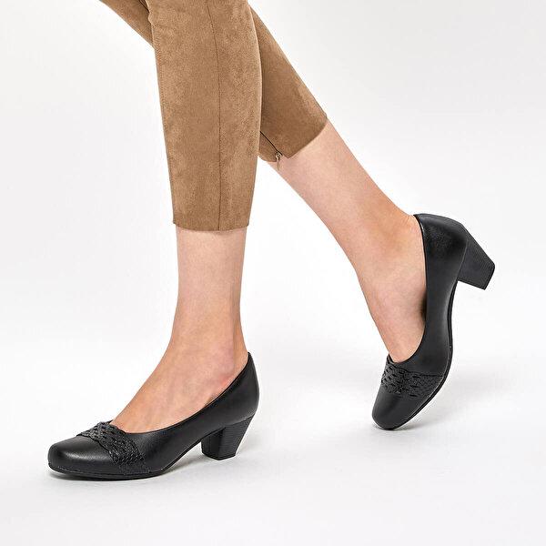 Polaris 92.158109.Z Siyah Kadın Gova Ayakkabı