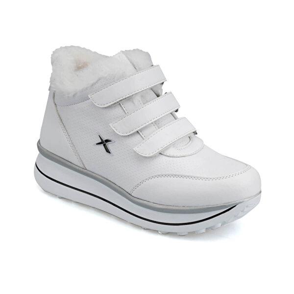 Kinetix Paulet Hi Krk 9pr Beyaz Kadin Sneaker 100419466 Instreet