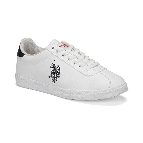 U.S. Polo Assn. TABOR WT 9PR Beyaz Kadın Sneaker Ayakkabı
