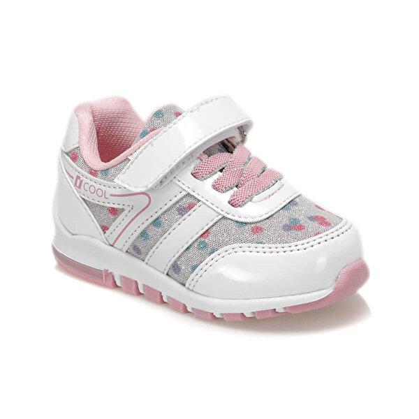 I Cool EMOTION Beyaz Kız Çocuk Yürüyüş Ayakkabısı