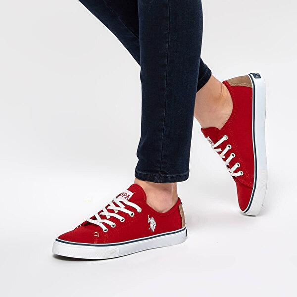 U.S Polo Assn. TOGA Kırmızı Kadın Slip On Ayakkabı