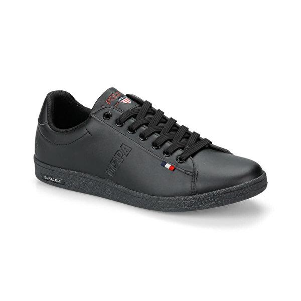 U.S Polo Assn. FRANCO Siyah Erkek Sneaker