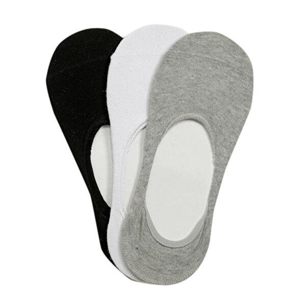 Kinetix DARREN Çok Renkli Erkek Babet Çorabı