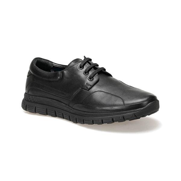 Flogart COM-302 Siyah Erkek Comfort Ayakkabı