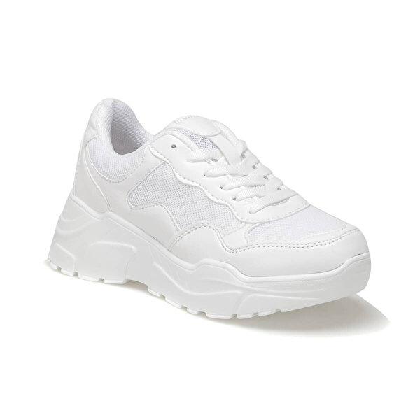 Kinetix BAMBA 9PR Beyaz Kadın Sneaker Ayakkabı