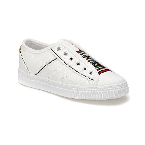Butigo 19S-502 Beyaz Kadın Slip On Ayakkabı