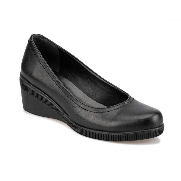Polaris 92.314095.Z Siyah Kadın Gova Ayakkabı