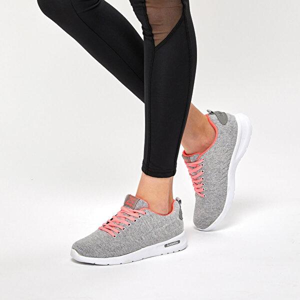 Kinetix NINA MESH Gri Kadın Sneaker Ayakkabı
