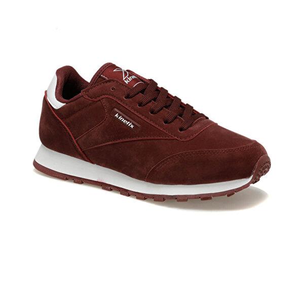 Kinetix LOWER S W 9PR Bordo Kadın Sneaker Ayakkabı