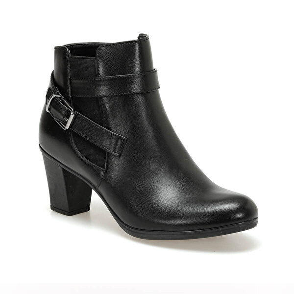 Polaris 92.156175YZ Siyah Kadın Topuklu Bot