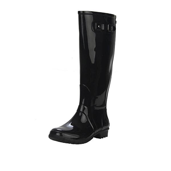 Igor GLOW Siyah Kadın Yağmur Çizmesi