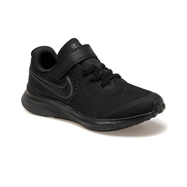 Nike AT1801-003 Siyah Erkek Çocuk Koşu Ayakkabısı