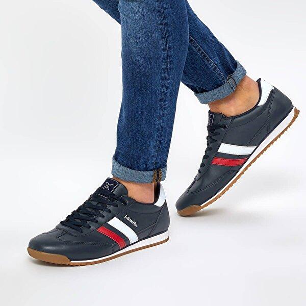 Kinetix HALLEY PU M 9PR Lacivert Erkek Sneaker Ayakkabı